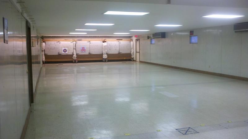 Archery room